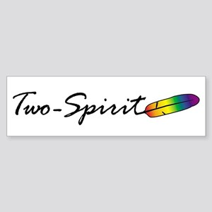 Two-Spirit Bumper Sticker